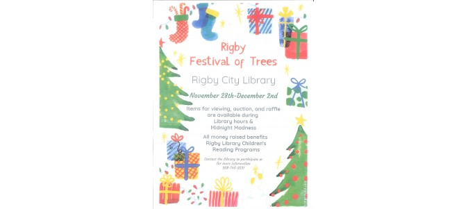 Rigby Festival of Trees