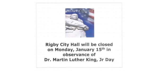 Office Closure - MLK Day