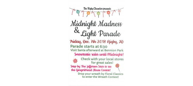 Midnight Madness & Light Parade