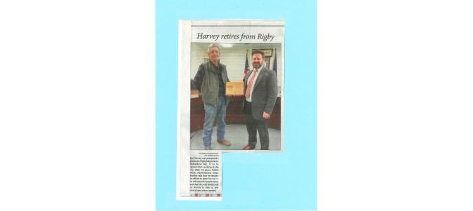 Ken Harvey Retirement