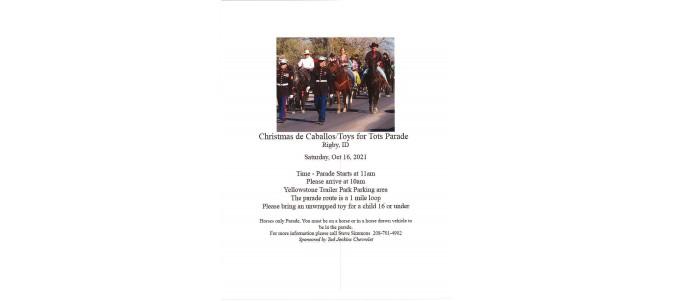 Christmas de Caballos/Toys for Tots Parade