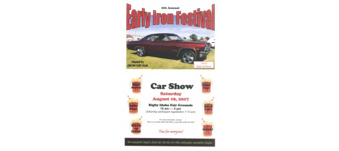9th Annual Early Iron Festival