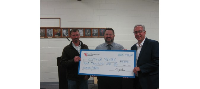 Funds awarded by Rocky Mountain Power Foundation