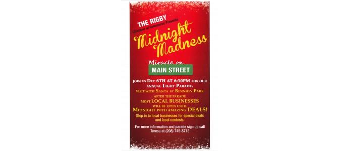 Midnight Madness & Light Parade