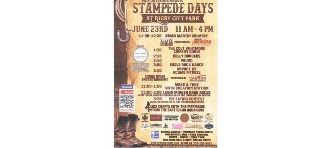 Stampede Days @ Rigby City Park